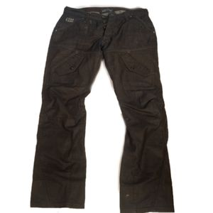 Vintage G Star mortorcycle/cargo jeans 33W